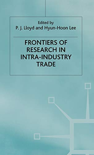 9780333971260: Frontiers of Research in Intra-Industry Trade