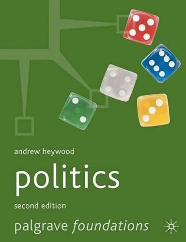 9780333971314: Politics (Palgrave Foundations Series)