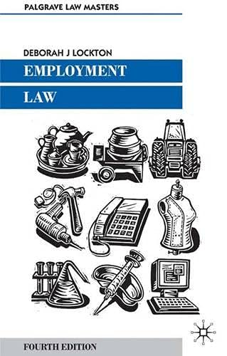 9780333971512: Employment Law (Palgrave Law Masters)