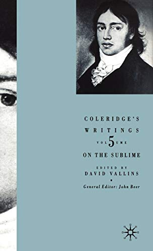 9780333972502: Coleridge's Writings: On the Sublime