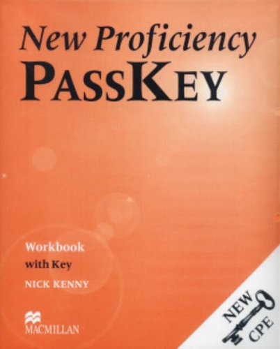 9780333974322: New Proficiency Passkey: Workbook (with Key)
