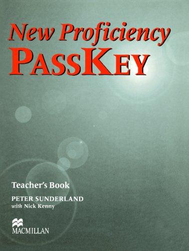 9780333974346: New Proficiency Passkey: Teacher's Book