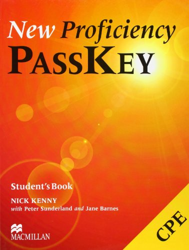 9780333974360: NEW PROFICIENCY PASSKEY Sts: Student's Book