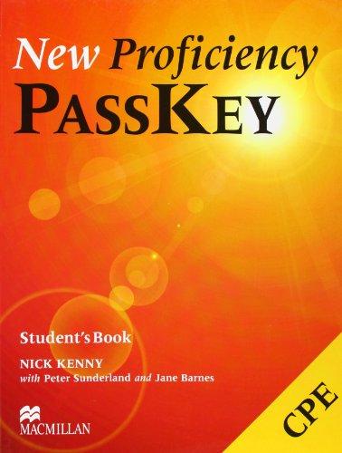 9780333974360: NEW PROFICIENCY PASSKEY Sb: Student's Book
