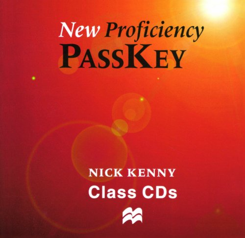 9780333974414: New Proficiency Passkey: Class CD