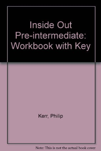 9780333975886: Inside Out Pre-intermediate: Workbook with Key