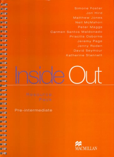 Inside Out Pre-intermediate: Vaughan Jones