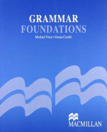 9780333976029: Grammar Foundations: Student Book