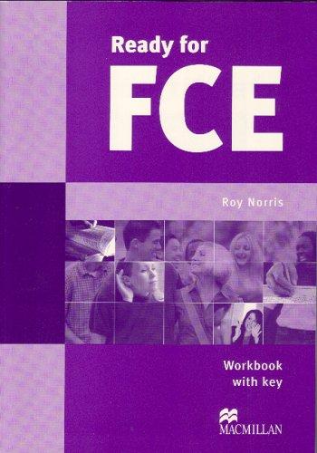 9780333976340: Ready for 1st certificate workbook/key: Workbook with Key