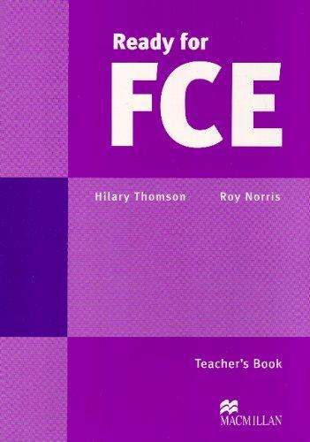9780333976357: Ready for First Certificate: Teacher's Book