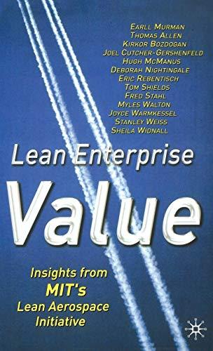 9780333976975: Lean Enterprise Value: Insights from MIT's Lean Aerospace Initiative