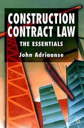 9780333980873: Construction Contract Law: The Essentials