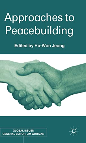 9780333981924: Approaches To Peacebuilding