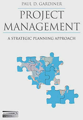 9780333982228: Project Management: A Strategic Planning Approach