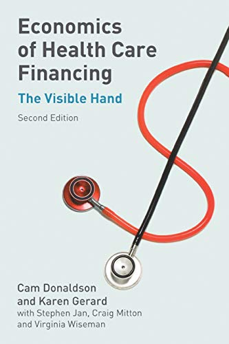 9780333984314: Economics of Health Care Financing: The Visible Hand