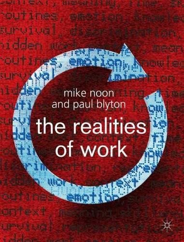 9780333984598: The Realities of Work: Second Editon