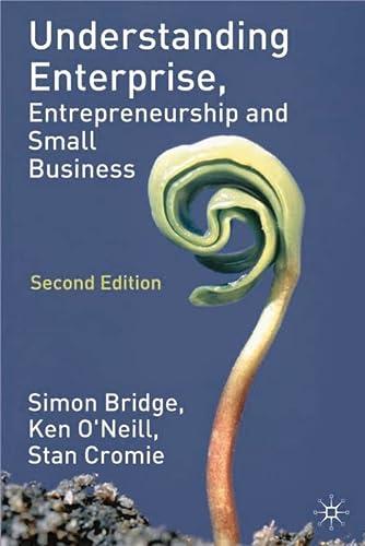 9780333984659: Understanding Enterprise, Entrepreneurship and Small Business