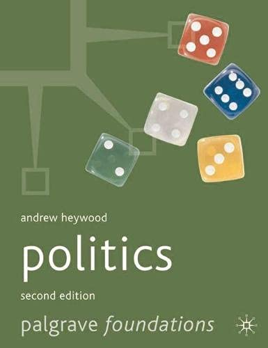 9780333986295: Politics (Palgrave Foundations Series)