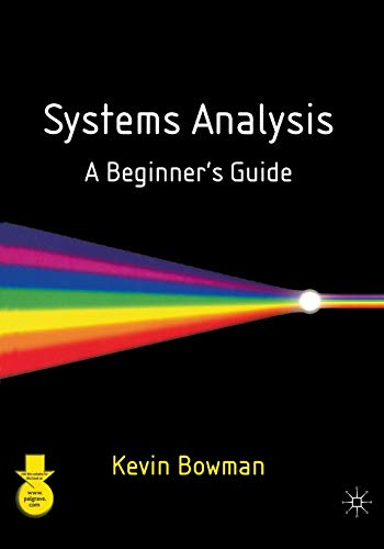 9780333986301: Systems Analysis: A Beginner's Guide