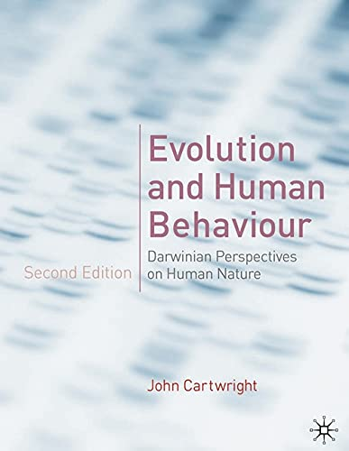 9780333986325: Evolution and Human Behaviour: Darwinian Perspectives on Human Nature