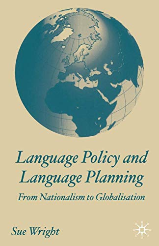 9780333986424: Language Policy and Language Planning: From Nationalism to Globalisation