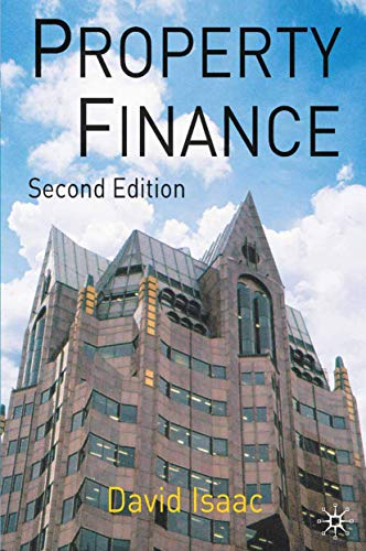 9780333987148: Property Finance (Building and Surveying Series)