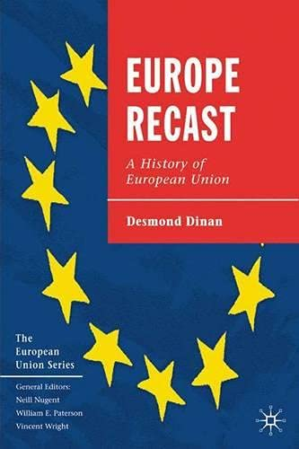 9780333987346: Europe Recast: A History of European Union