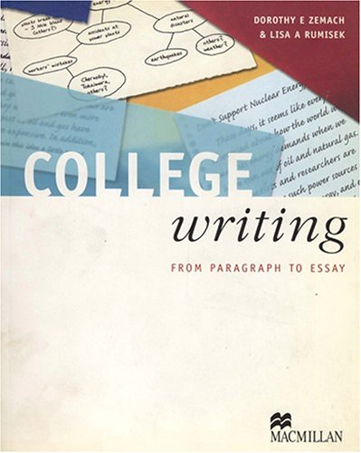 9780333988534: College Writing: Student's Book