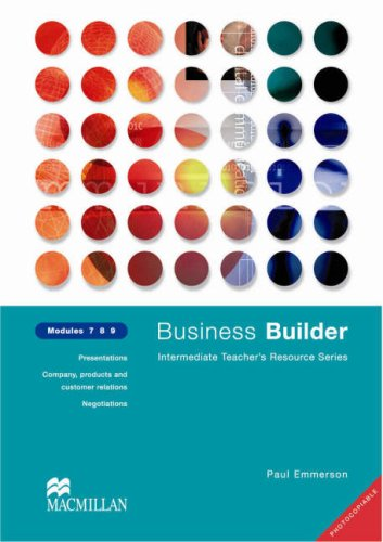 9780333990964: Business Builder Modules 7 8 9