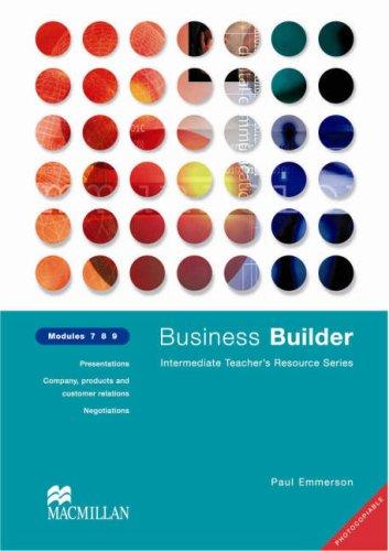 9780333990964: Business Builders Tea Res Mod 7-9