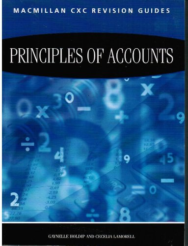 9780333992050: Macmillan Revision Guides for CSEC Examinations: Principles of Accounts