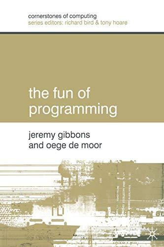 9780333992852: The Fun of Programming (Cornerstones of Computing)