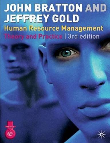 9780333993255: Human Resource Management: Theory and Practice