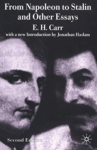 9780333994016: From Napoleon to Stalin and Other Essays