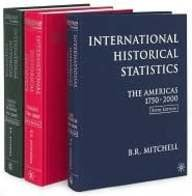 International Historical Statistics, 1750-2000: Africa, Asia and Oceana 1750-2000 (3 Vol. Set): ...