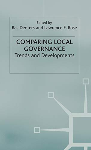 9780333995556: Comparing Local Governance: Trends and Developments (Government beyond the Centre)