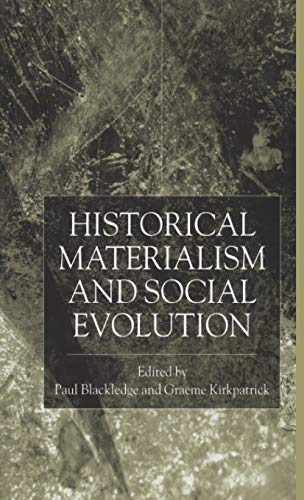 9780333995624: Historical Materialism and Social Evolution