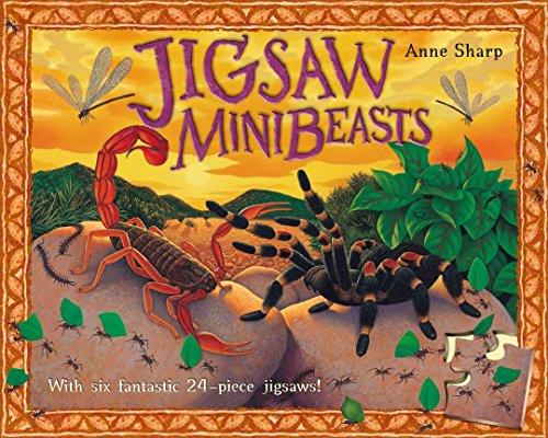 Jigsaw Minibeasts With Six Fantastic 24 Piece: Sharp, Anne