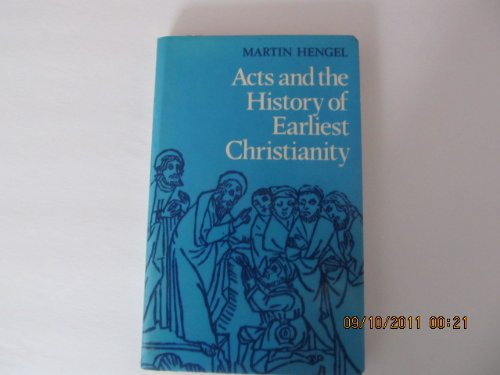9780334000174: Acts and the History of Earliest Christianity