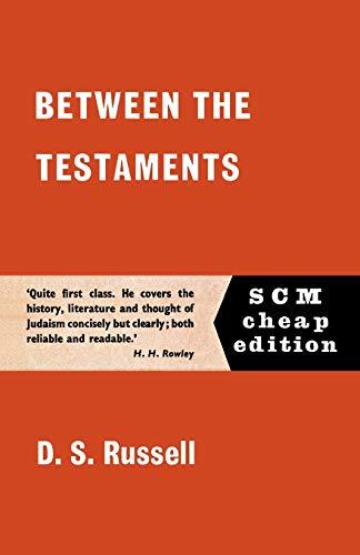 9780334000952: Between the Testaments