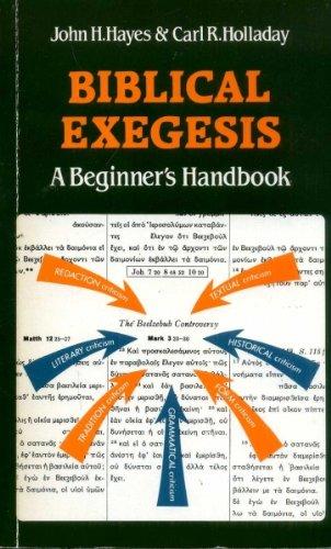 9780334001256: Biblical Exegesis: A Beginner's Handbook