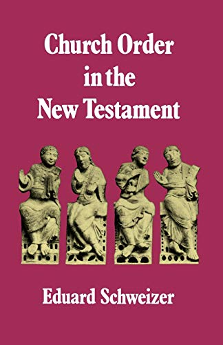 9780334002246: Church Order in the New Testament