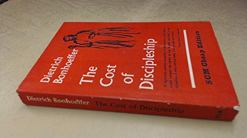 9780334002598: The Cost of Discipleship