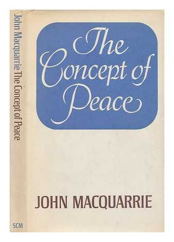 9780334002604: Concept of Peace (The Firth lectures)