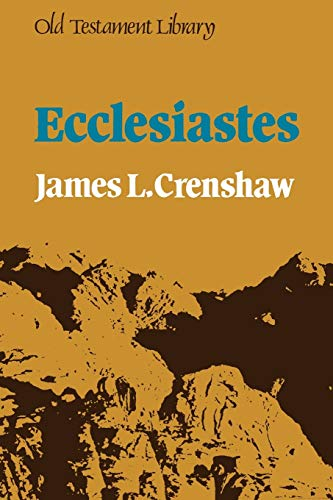 9780334003618: Ecclesiastes (Old Testament Library)