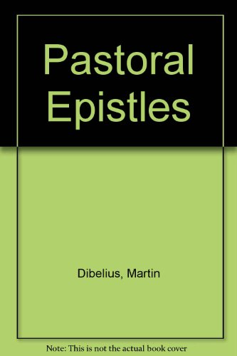 9780334006145: Pastoral Epistles