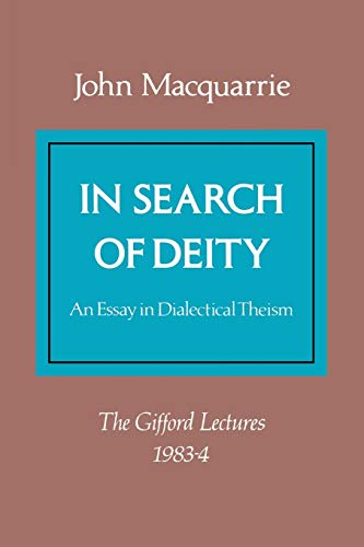 9780334006664: In Search of Deity (Gifford Lectures)
