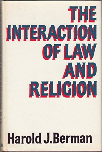9780334007005: Interaction of Law and Religion