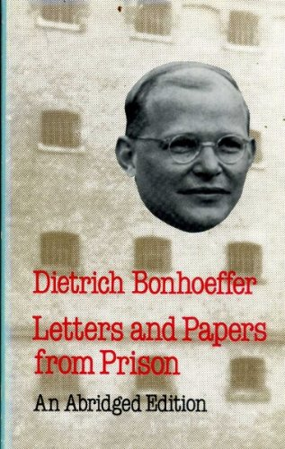 letters and papers from prison bonhoeffer dietrich