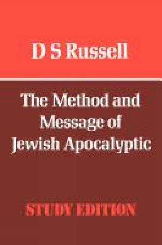9780334010074: The Method and Message of Jewish Apocalyptic (Old Testament Library)